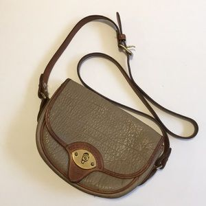 Dooney & Bourke cross body all leather bag